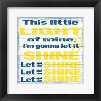 Framed Light Of Mine 2