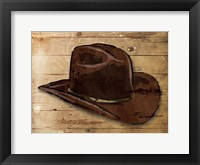 Framed Sketched Hat