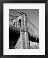 Framed Beneath Brooklyn Bridge 1