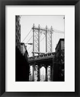 Framed Manhattan Bridge 1