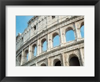 Framed Roman Colosseum Arches