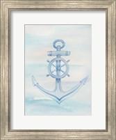 Framed Coastal Anchor 1