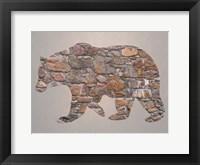 Framed Bear Woods