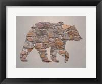 Framed Bear Woods 2