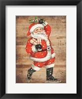 Framed Santa Baby