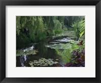 Framed Giverny Pond