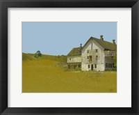 Framed Barn With Blue Sky