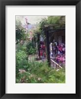 Framed Gift Shop At Giverny