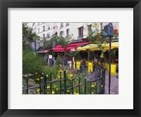 Framed Place Du Petitpont