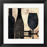 Framed Shadowy Kitchen 2