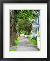 Framed Country Town Sidewalk