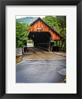 Framed Covered Bridge