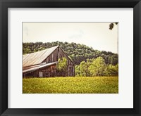 Framed Country Barn 4 Vintage