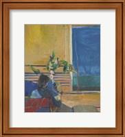 Framed Girl with Plant, 1960