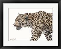 Framed Passing Leopard