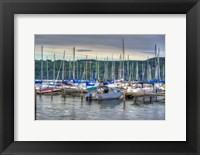 Framed Harbor at Watkins Glen