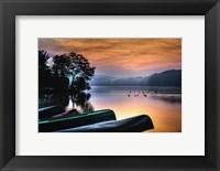 Framed French Creek Sunrise