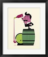 Framed Wine