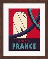 Framed Tour de France