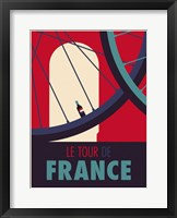 Framed Tour de France