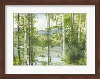 Framed Summer Lake III