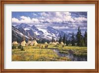 Framed Nez Perce Summer Camp