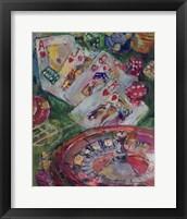 Framed Casino Art