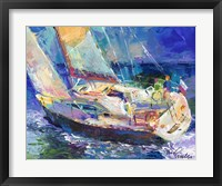 Framed Sailboat