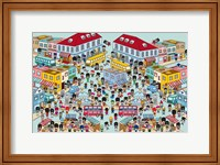 Framed Toy Soldiers - Town