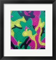 Framed Abstract Camo