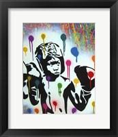 Framed Boxer V Pollock