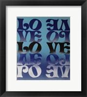 Framed Love Love Love