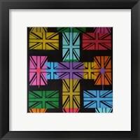 Framed Union Jack Cross