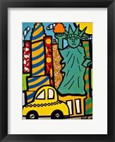Framed Statue of Liberty Pops