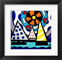 Framed Sailboats