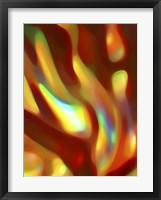 Framed Iridescent Flowing Color