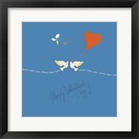 Framed Saint Valentine
