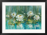Framed Water Lily Pond