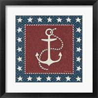 Framed Coastal Americana III
