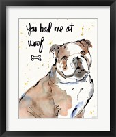 Strike a Paws I Framed Print
