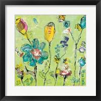 Framed Doodle Garden