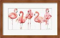 Framed Gracefully Pink VIII