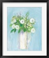 Framed Alloway Blossom on Blue