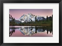 Framed Mount Shukan Reflection II