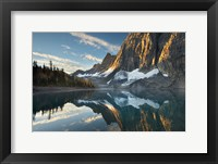 Framed Floe Lake Reflection III
