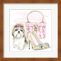 Framed Glamour Pups II