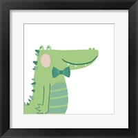 Framed Alvin the Alligator