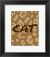 Framed Cat Pattern