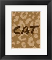 Framed Cat Pattern