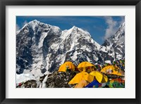 Framed Base Camp, Mt Everest, Nepal